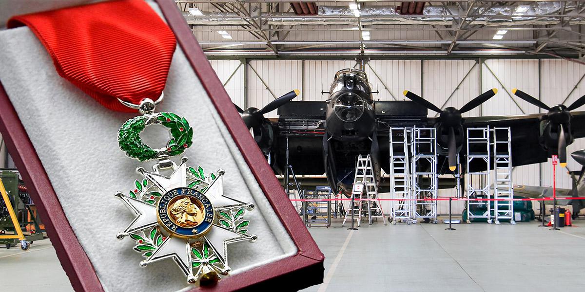 The Legion d'Honneur medal