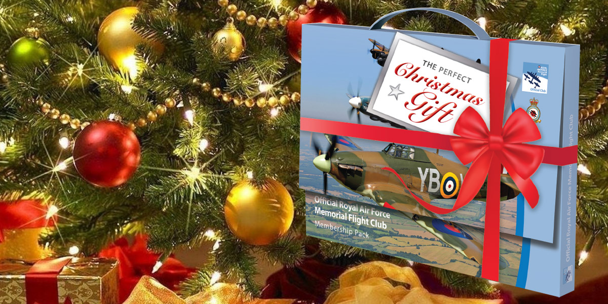 Buy RAF Memorial Flight Club membership for Christmas
