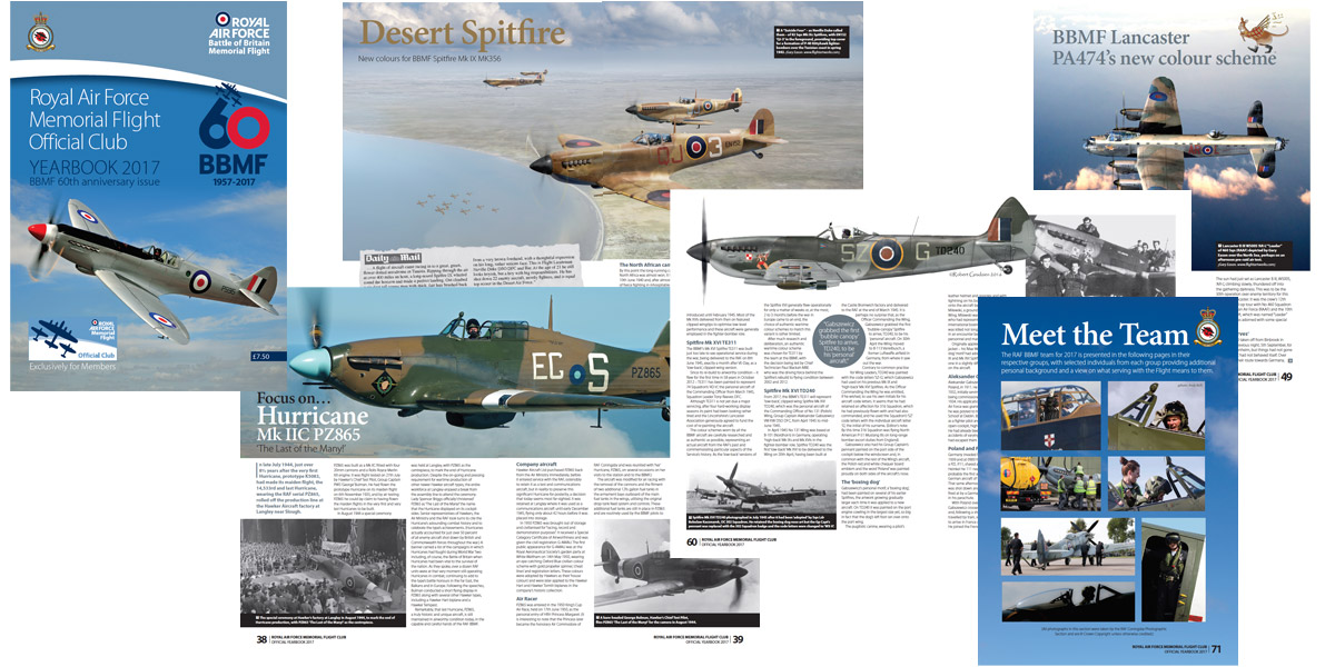 BBMF Yearbook 2017
