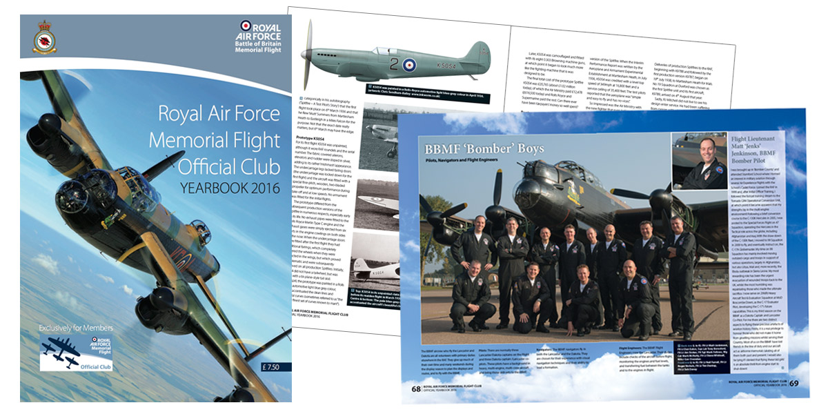 The 2016 BBMF Yearbook