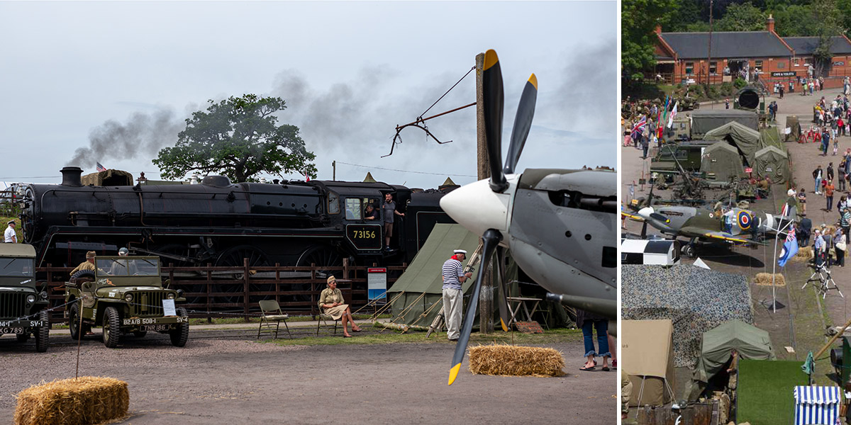 Great Central Railway wartime weekend