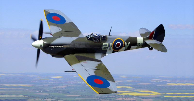Spitfire MK356 with clipped wingtips.