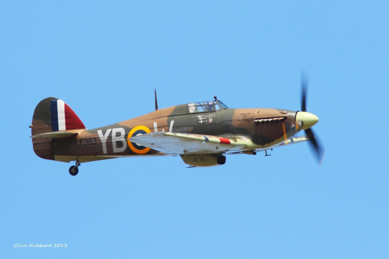 Hurricane Mk II c.   RIAT 2013