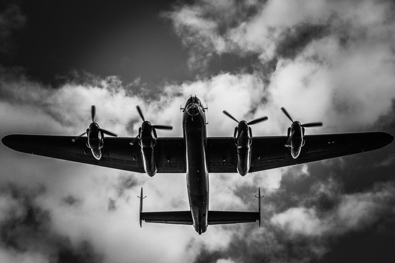 Lancaster overhead