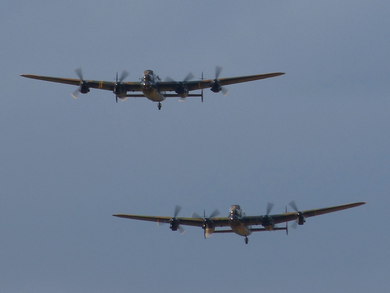 BBMF and CWHM Lancasters August 2014