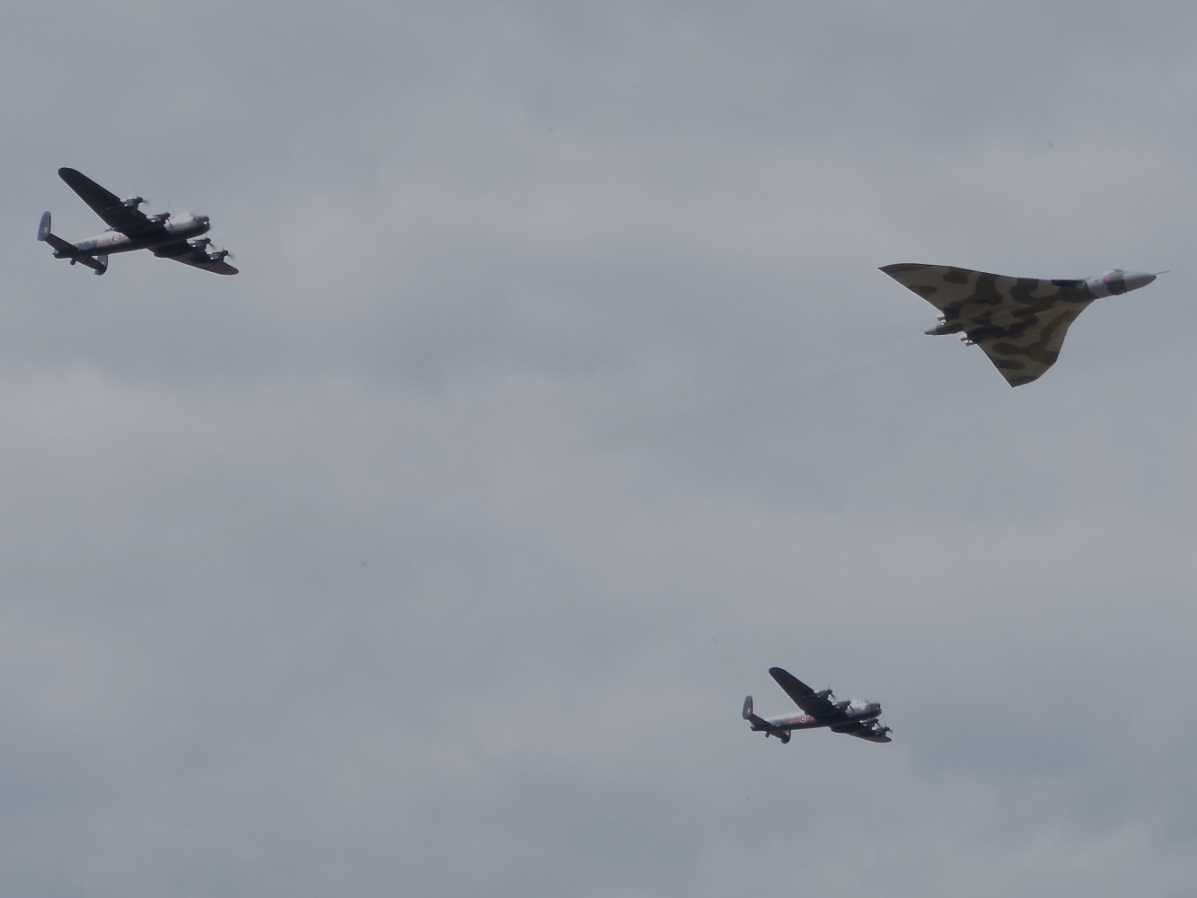 Avro Three Sisters August 2014
