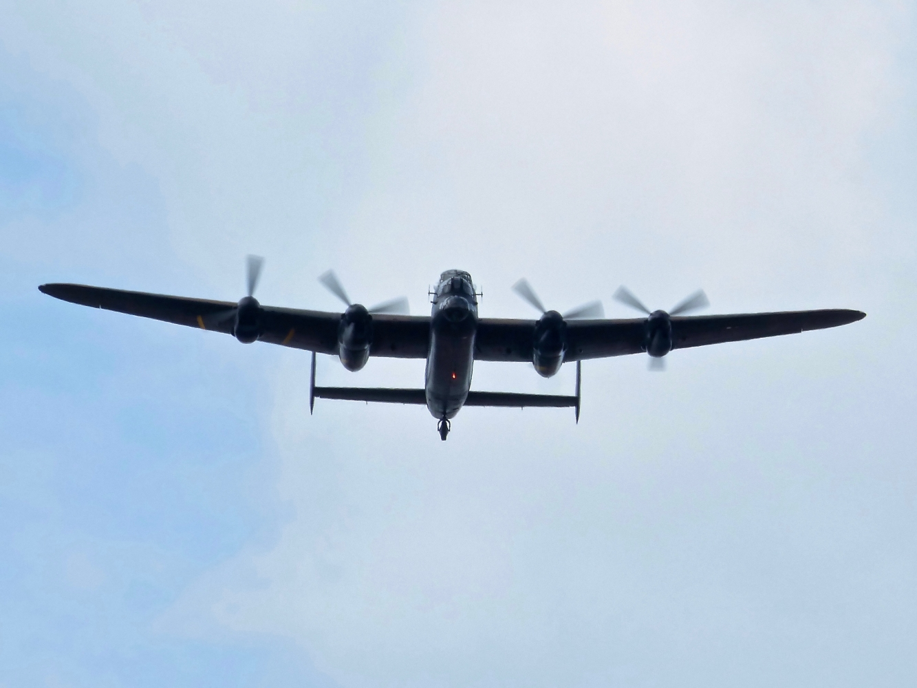 BBMF Lancaster Flypast over RAF Hendon September 2018