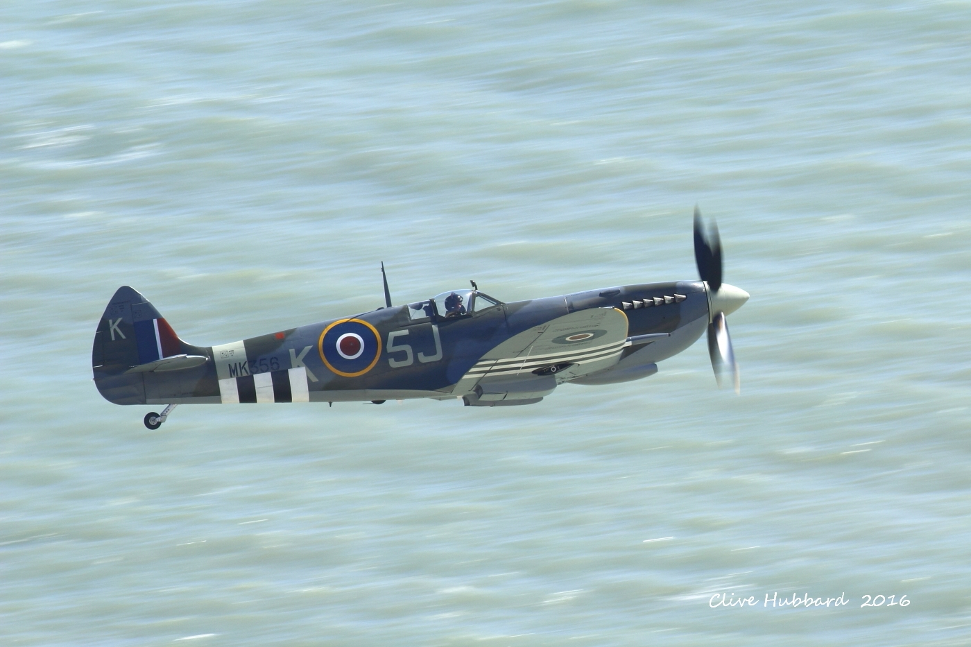 Spitfire MK LFiXe from Beachy Head 2016