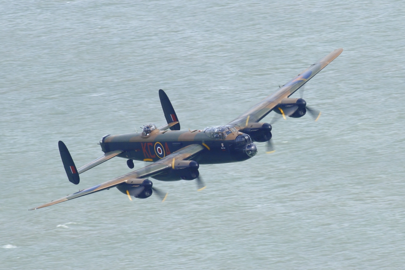 Lancaster from Beachy Head 2016