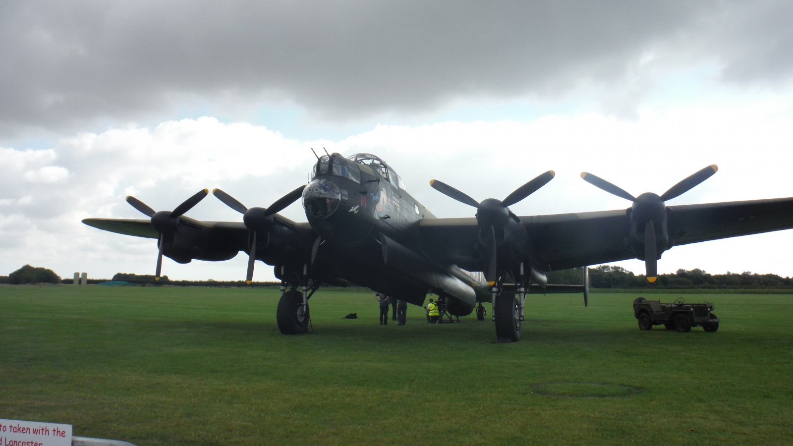 Just Jane at East Kirby.Beautiful aircraft
